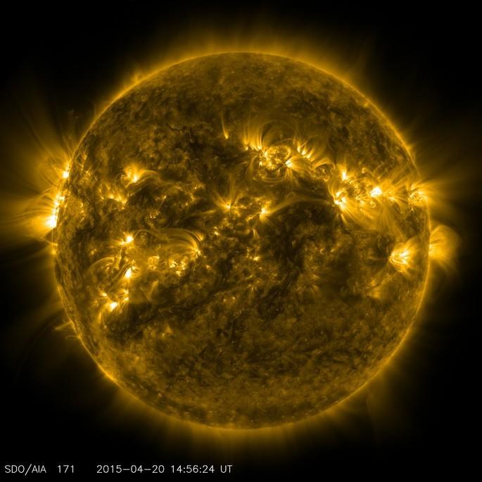 Regiones activas del sol energia solar tipos de energía