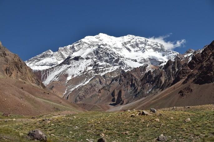 Sierra del Aconcagua ecosistema terreste alpino