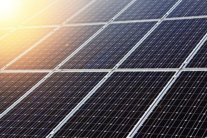 paneles solares para colectar energia luminosa en energia electrica
