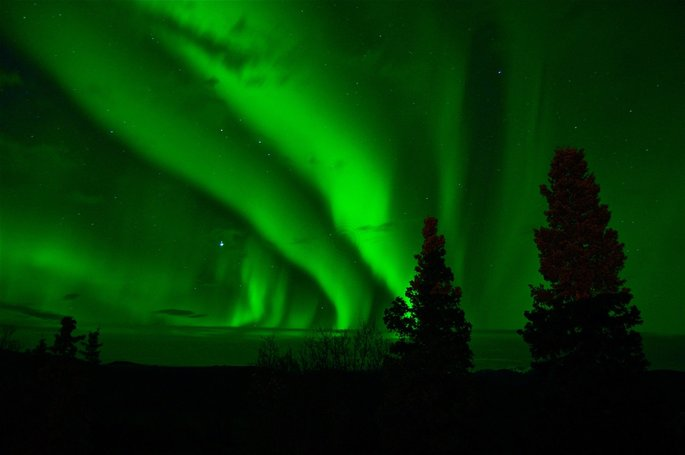 aurora borealis en fenomenos naturales