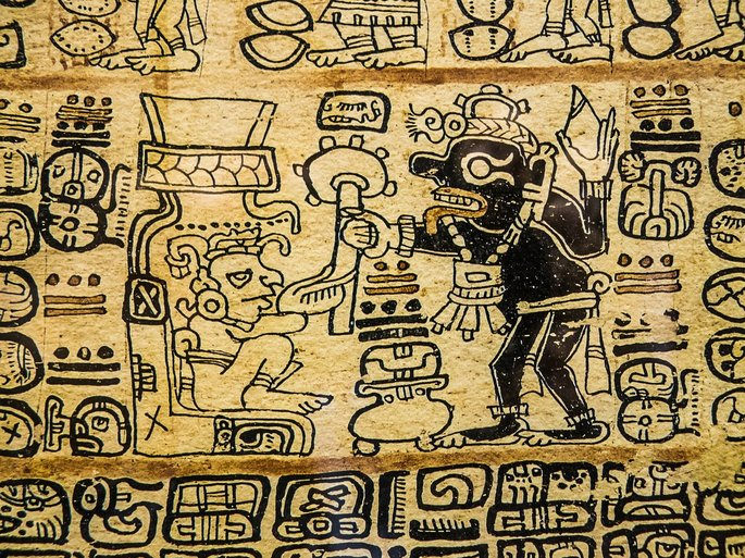 pinturas precolombinas