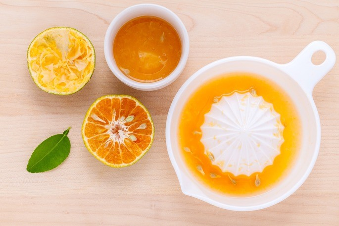 el jugo de frutas es una mezcla heterogenea