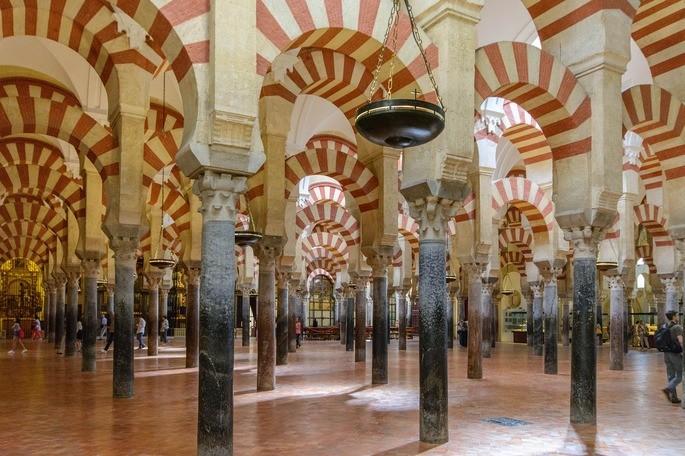 Centro histórico de Córdoba, Andalucía, patrimonio material histórico
