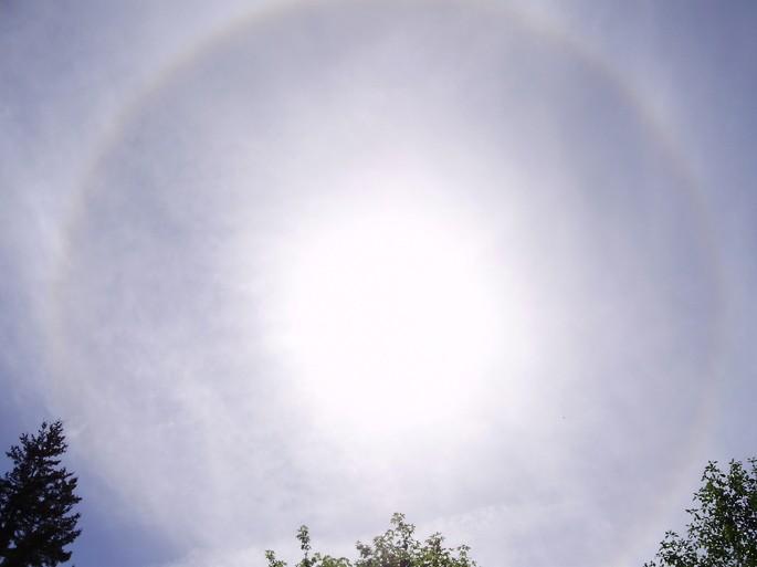 tipos de nubes cirroestrato