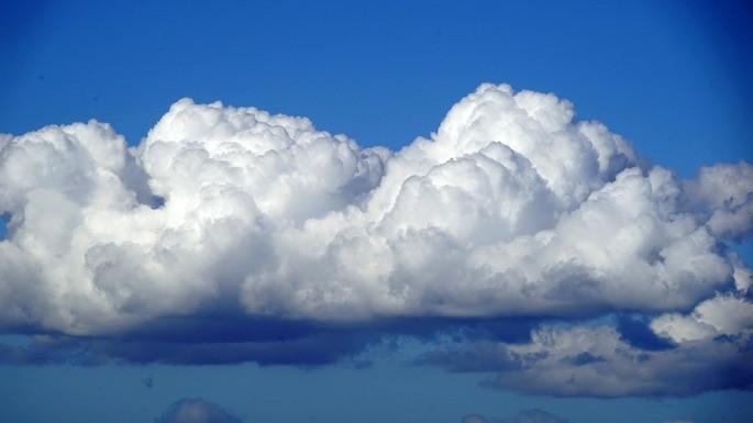 tipos de nubes cumulos