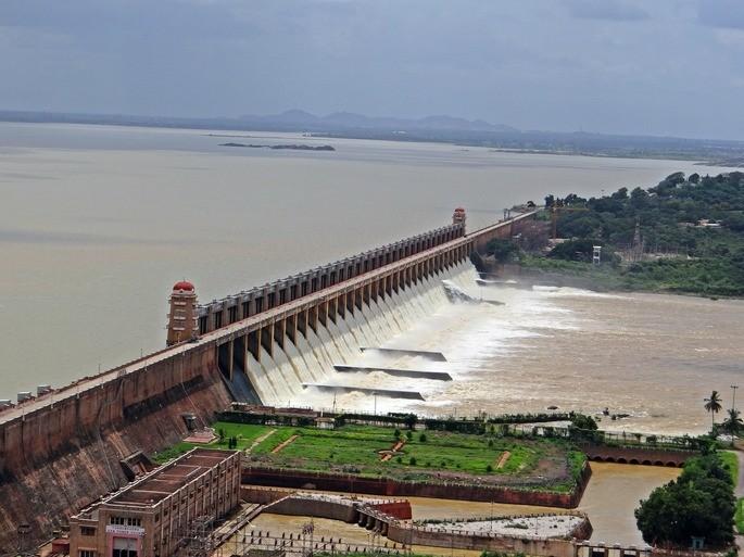 Energía potencial represa