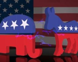 Demócratas y republicanos