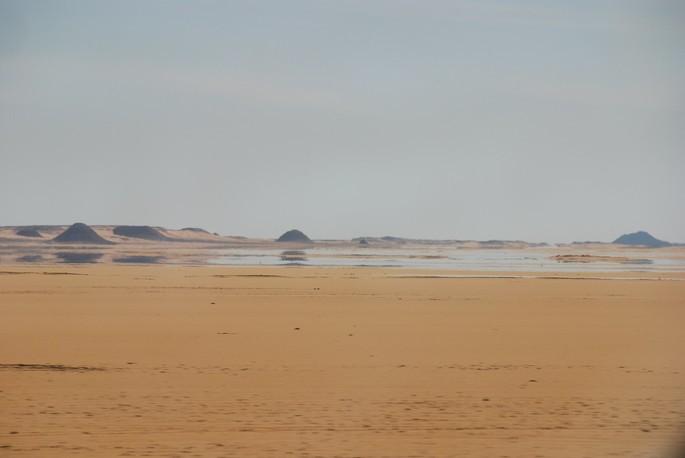 espejismo en el desierto fenomeno natural