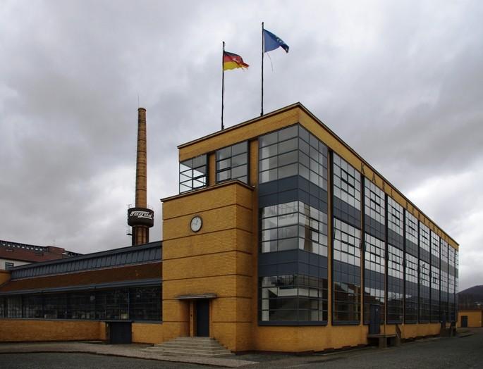 Fábrica en Alfeld, Alemania, patrimonio material industrial