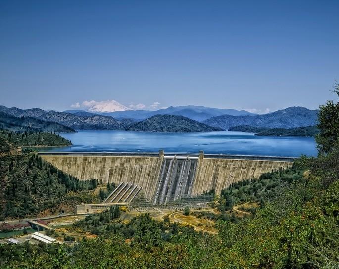 las represas depositos de agua central hidroelectrica energia renovable