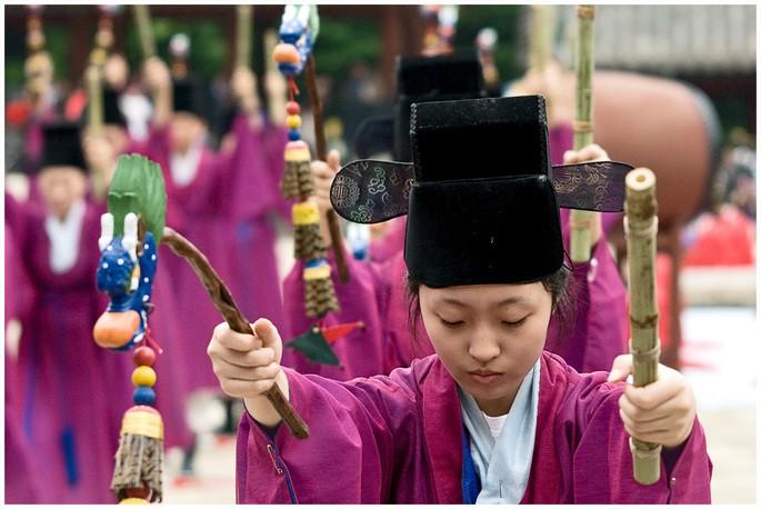 Jongmyo, patrimonio inmaterial