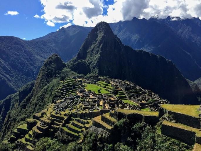 Machu Pichu, patrimonio material arqueológico