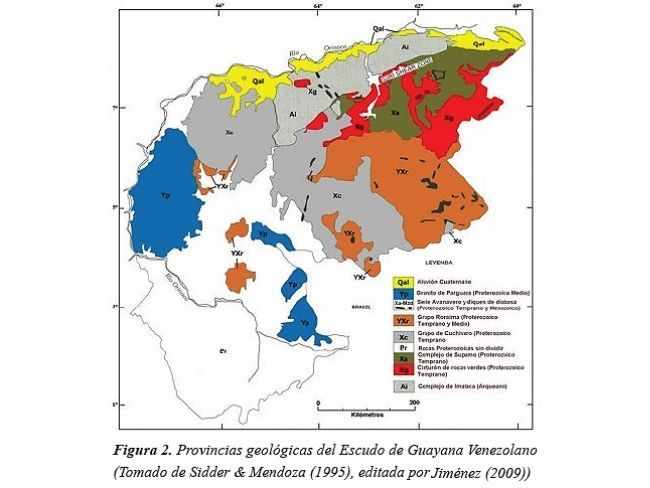 Mapa geoquímico