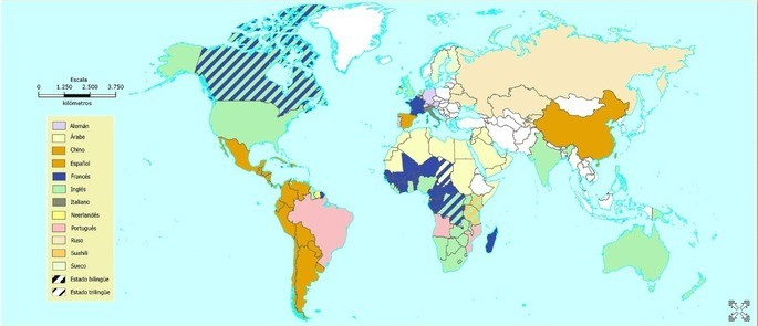 mapa lingüístico