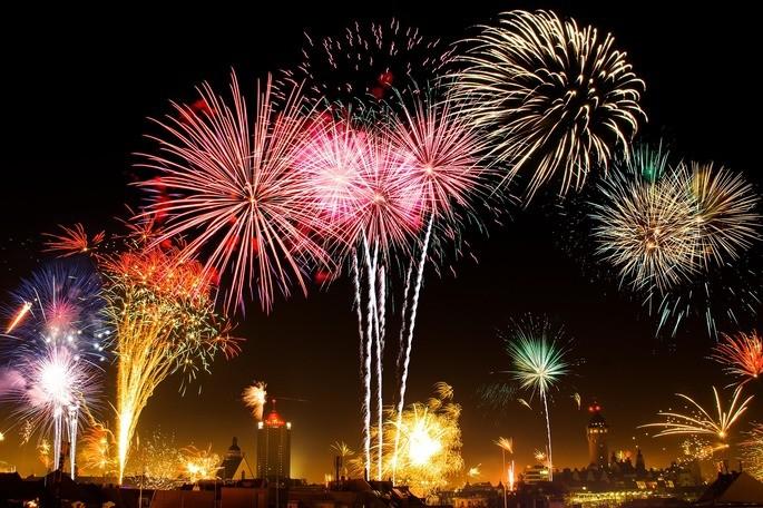fuegos artificiales son un fenomeno quimico