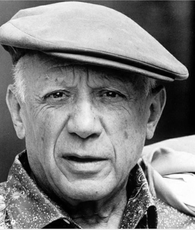 Pablo Picasso Inteligencia visual-espacial