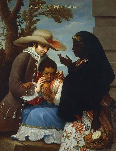 Castas de la Nueva España, mulata