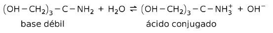 tris base y acido conjugado