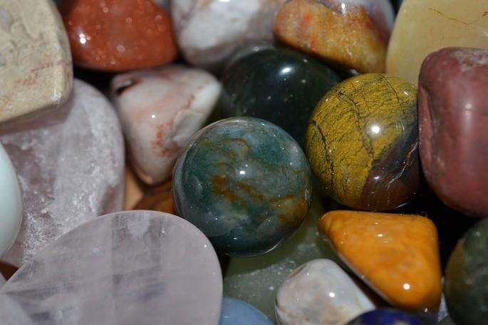 piedras pulidas son mezclas heterogeneas