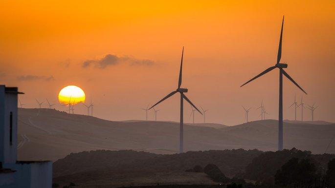 energía eólica tipos de energía