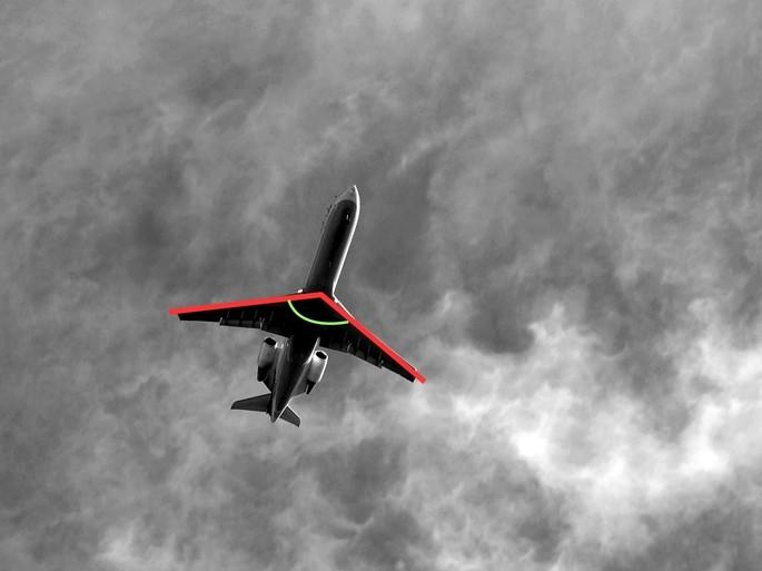 ángulo obtuso alas de avion tipos de ángulo