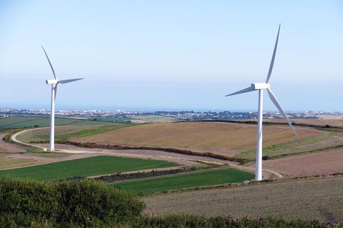 Turbinas eolicas para generar electricidad a partir del viento